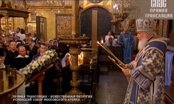 Практический урок литургики для католических студентов: О патриаршей службе в Успенском соборе Кремля