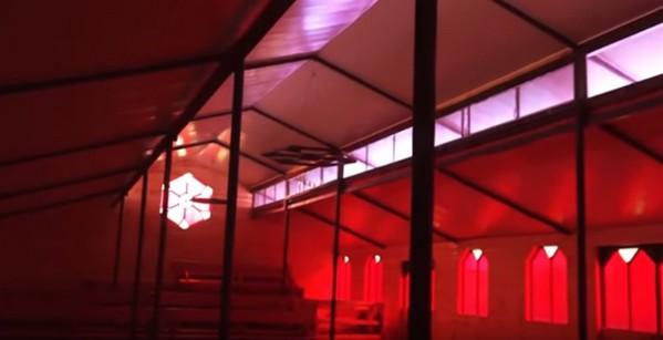 На последних секундах видео показан интерьер православного храма (по всей видимости строящегося в Болгаре), который очень напоминает протестантскую кирху